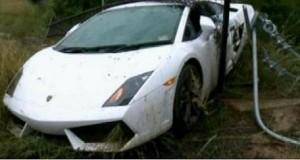 Bérelt Lamborghinit tört össze a férj