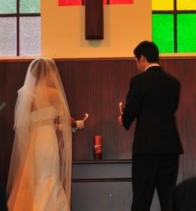 gyertya ceremónia