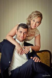 Kata és András esküvő